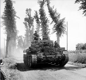 Royal Marines Armoured Support Group - Centaur IV of RMASG near  Tilly-sur-Seulles, 13 June 1944