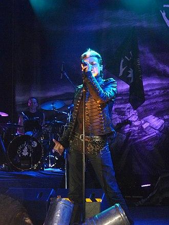 Tilo Wolff - Tilo Wolff performing with Lacrimosa in Puebla, Mexico
