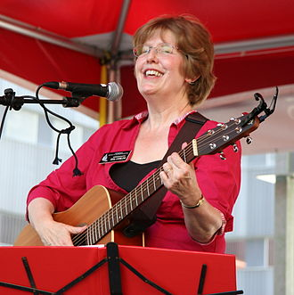Tina Liebling - Rep. Liebling playing guitar in Rochester
