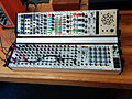 Tiptop modular synthesizer with 4ms, Synth Rotek, and Critter & Guitari IIO modules - Enticingly technical synthesizer 2, Control Voltage, Mississippi Street, Portland, Oregon, USA (2014-07-12 by Cory Doctorow).jpg