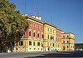Tirana - The Ministry of Defence and MAFCP.jpg