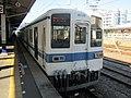 Tobu 8000 series 81119 at Yorii Station.jpg