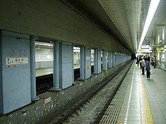 Daimon Station (Tokyo) - Asakusa Line platform