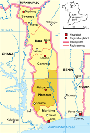 Plateaux Region of Togo