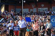 Ridge at McCain Palin rally