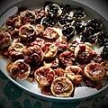 Tomato and mushroom tarts, 2009.jpg