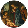 Tommaso di Credi - Holy Family with St. John, and St. Onuphrius beyond 165L12034 6G7FX.jpg