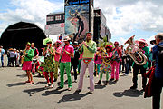 Tonnerres de Brest 2012 Fanfare A bout de souffle 003.jpg