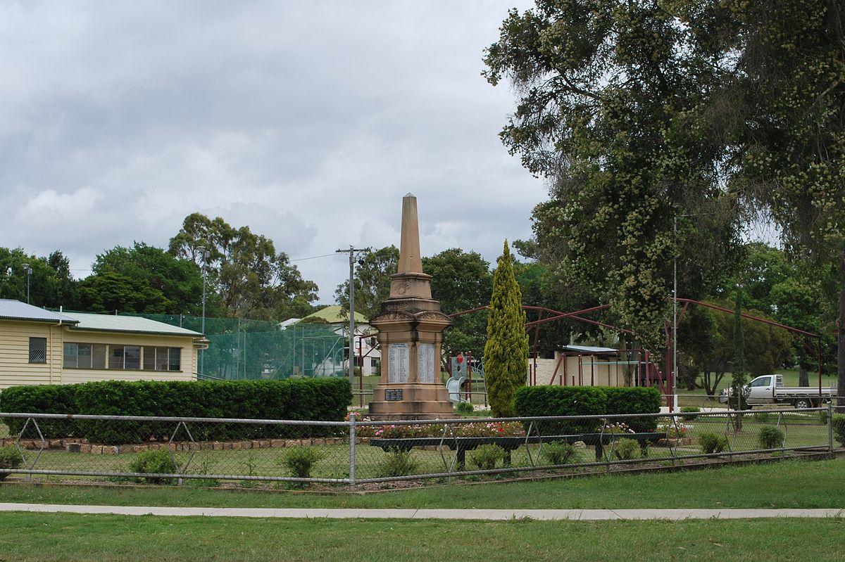 Toogoolawah War Memorial Wikipedia