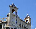 Torretes de l'edifici Llorente, Joaquín Rieta Síster, plaça d'Amèrica de València.JPG