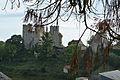 Tours Nord de la forteresse de Bourbon l'Archambault, Allier..jpg