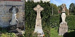 Tourteron - les 3 Croix de chemin de Tourteron - Photo Francis Neuvens lesardennesvuesdusol.fotoloft.fr.jpg