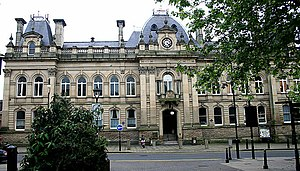 Wolverhampton City Council - The old Town Hall (magistrates court)