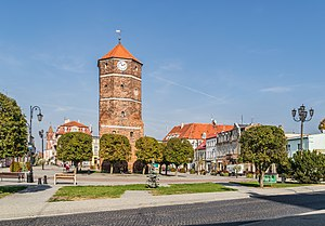 Town hall tower in Znin (8).jpg