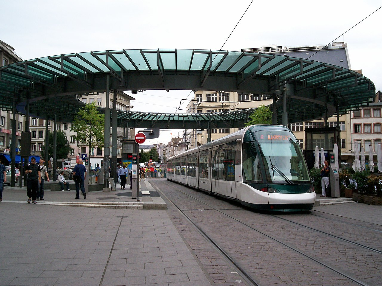 Tranvía de Estrasburgo en HommedeFer