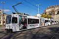 Tram Düwag Be 4-6 809 et Be 4-8 833 Michael Kors (22506316278).jpg