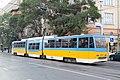 Tram in Sofia mear Macedonia place 2012 PD 022.jpg