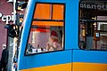Tram in Sofia near Palace of Justice 2012 PD 029.jpg