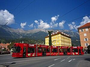 Trambahn in Innsbruck