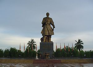 Tran Hung Dao Statue in Nam Dinh City