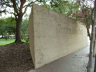 Reality Bites - The film's exteriors were shot primarily in Houston, including Tranquillity Park.
