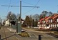 Travaux de la branche vers Vieux-Condé de la ligne B du tramway de Valenciennes en décembre 2013 (281).JPG