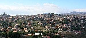 Trecastagni - Image: Trecastagni panorama