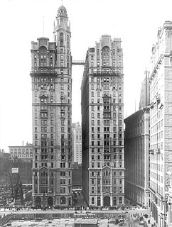 Trinity and United States Realty Buildings building complex in New York City