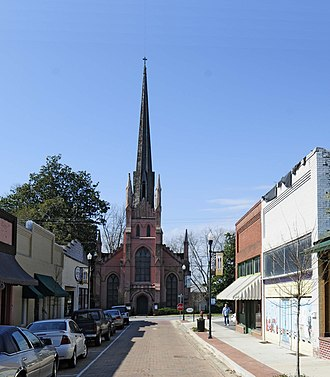 Trinity Episcopal Church and Cemetery - Image: Trinity Episcopal
