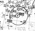 Tropical Storm Six analysis 23 Sep 1940.jpg