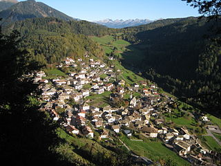 Truden im Naturpark Comune in Trentino-Alto Adige/Südtirol, Italy