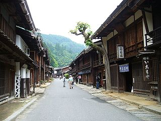 Town in Chūbu, Japan