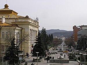 Râmnicu Vâlcea - Image: Tudor Vladimirescu Str RV