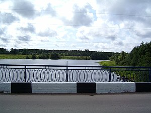 Salmi (rural locality) - Tulemayoki River bridge in Salmi