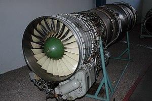 Tumansky R-11 - Preserved Tumansky R-11 turbojet engine at the Polish Aviation Museum