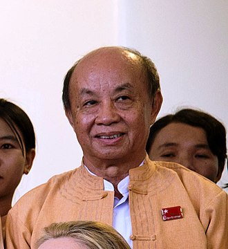 Speaker of the House of Representatives of Myanmar - Image: Tun Tun Hein
