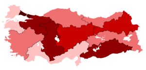 Turkey COVID-19 cases per 100k inhabitants by NUTS-1 regions.png