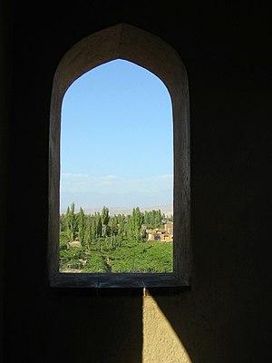Emin Minaret - Minaret window
