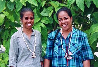 Princess Margaret Hospital (Funafuti) - Image: Tuvalu's first female doctors. Tuvalu 2008. Photo Aus AID (10731161574)