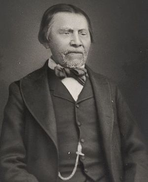 Yakima War - Tyee Dick, pictured here later in life, was one of Leschi's soldiers at the Battle of White River. After the war he would rise to the chiefdom of the Puyallup.