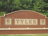 Tyler, Texas, sign IMG 0444