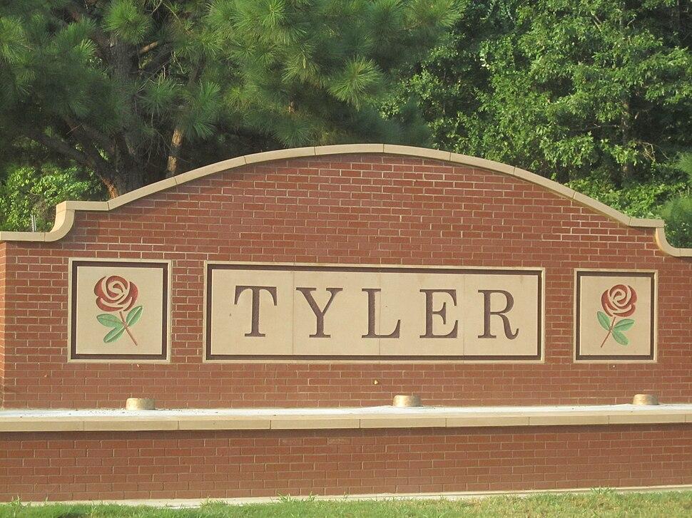 Tyler, Texas, sign IMG 0444