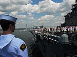 U.S. Naval Sea Cadet Corps (NSCC) Cadet Max Walsh of the Henry E. Mooberry Division at the Washington (DC) Navy Yard.jpg