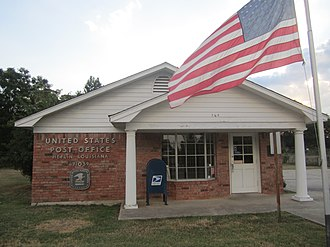 Heflin, Louisiana - U.S. Post Office in Heflin