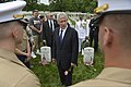 U.S. Secretary of Defense Chuck Hagel joins President Barack Obama to honor the nations fallen service members during the annual Memorial Day observance at Arlington National Cemetery, Va., May 27, 2013 130527-D-NI589-541.jpg