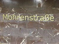 U2 Mohrenstraße sign.jpg