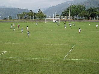 Industrial University of Santander - Image: UIS Campo de fútbol
