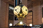Central Main Concourse clock