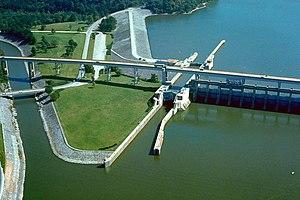 Chickamauga Lake - Chickamauga Lock and Dam