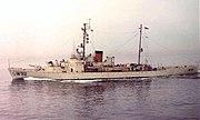 USCGC Campbell (WPG-32) underway 1963
